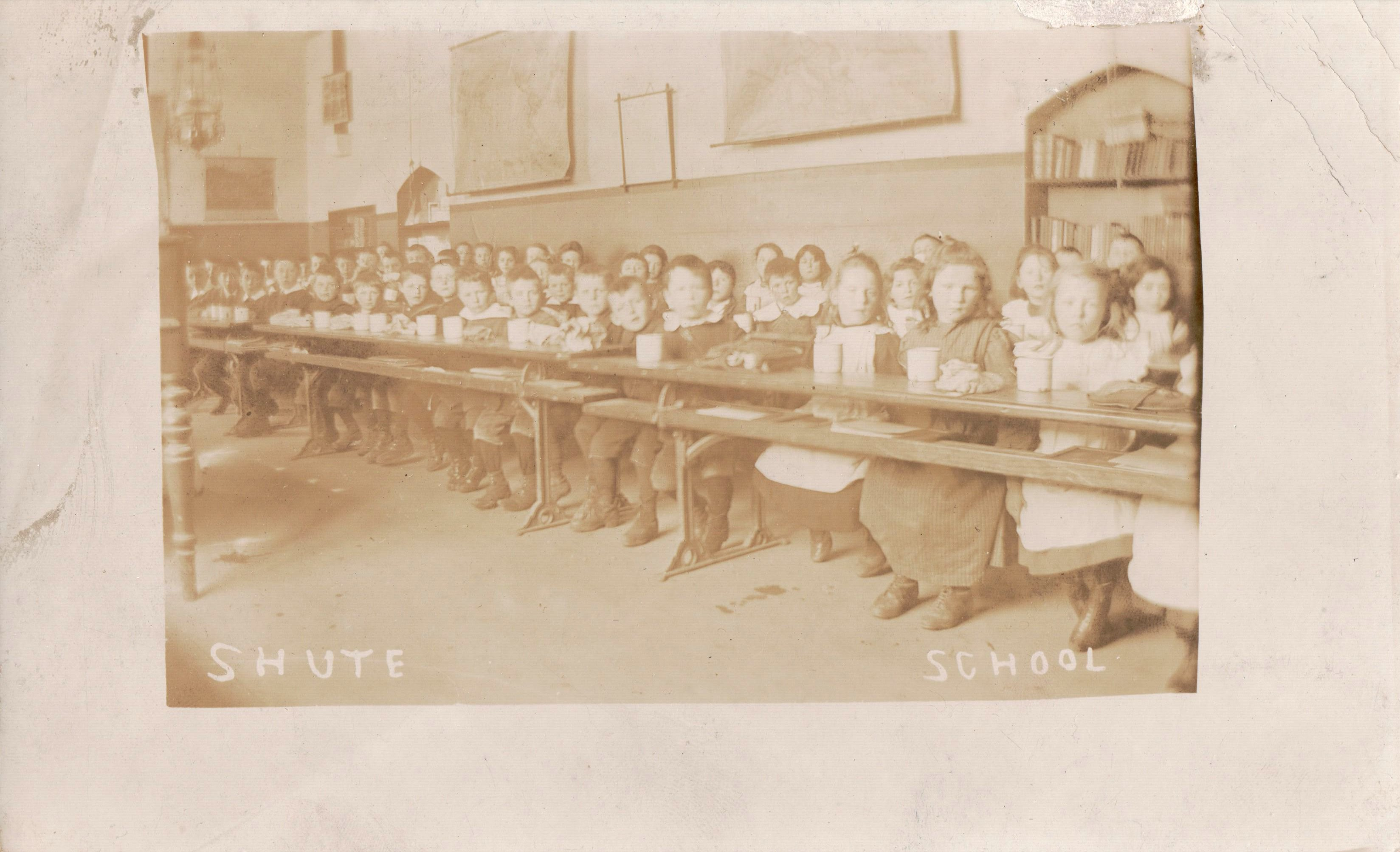 A Class at Shute Primary School